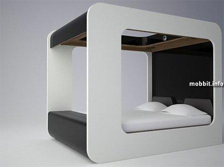 Концептуальная мультимедийная кровать. Изображение № 1.