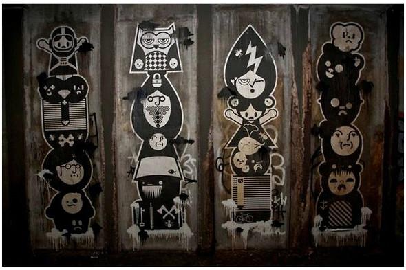 Подземное искусство в Нью-Йорке, светящееся кладбище в Лондоне и другие новости. Изображение № 5.