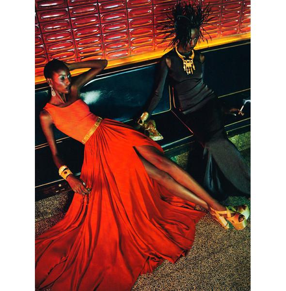Изображение 4. The Blackallure: съемка с темнокожими моделями в итальянском Vogue.. Изображение № 4.