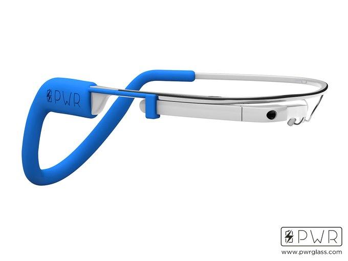 Разработан аксессуар-аккумулятор для Google Glass. Изображение № 1.