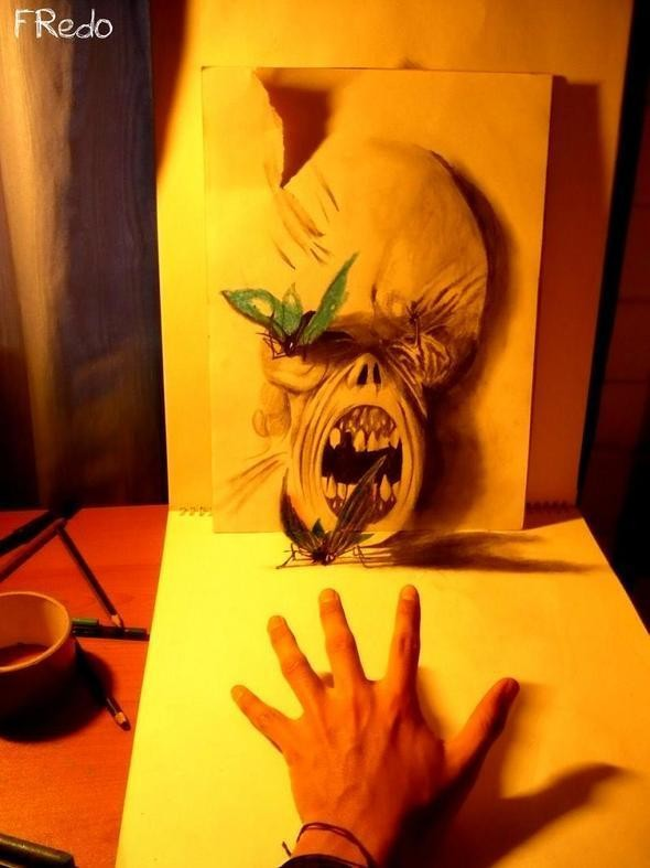 """Изображение 24. Реалистичные 3D рисунки """"в карандаше"""".. Изображение № 24."""