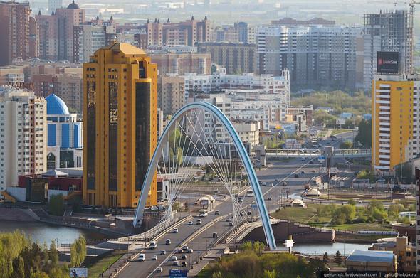 Изображение 4. Астана с высоты птичьего полета.. Изображение № 4.