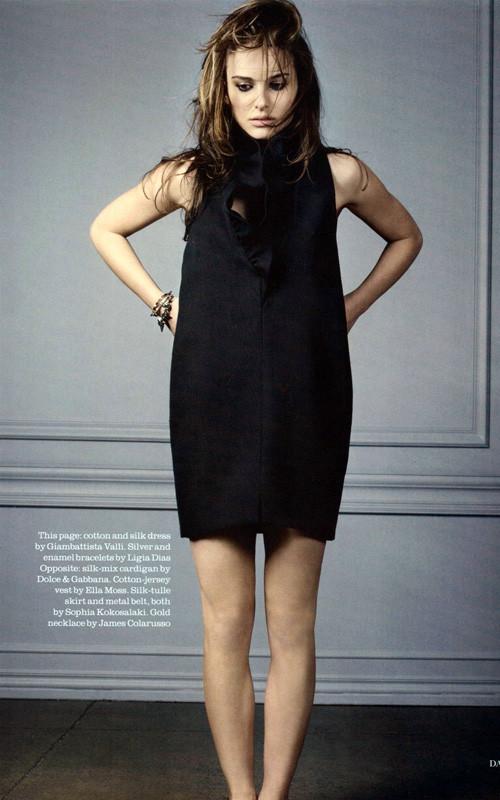 Natalie Portman Does Elle Magazine. Изображение № 5.