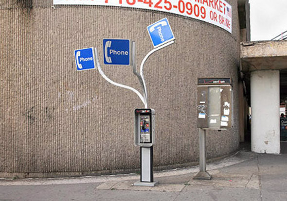 Уличная интервенция от Брэда Доуни. Изображение № 10.