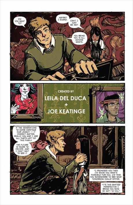 «Никаких зомби и супергероев»: Интервью с создателями комикса Shutter. Изображение № 10.