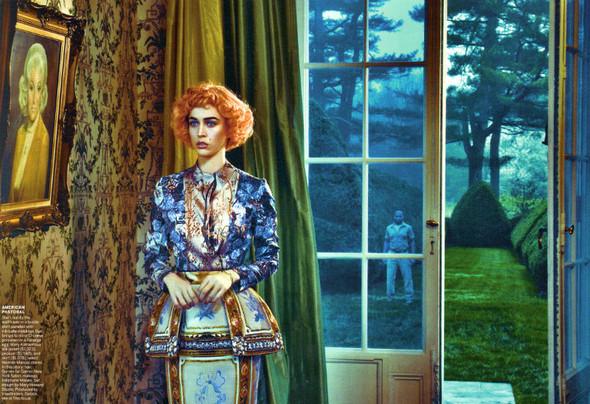 Съёмка: Ракель Циммерманн в объективе Стивена Кляйна. Изображение № 4.