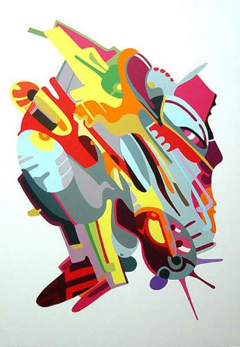 Точка, точка, запятая: 10 современных абстракционистов. Изображение № 87.