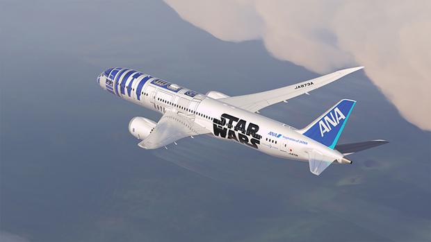 Авиакомпания показала перекраску самолёта под R2-D2. Изображение № 2.