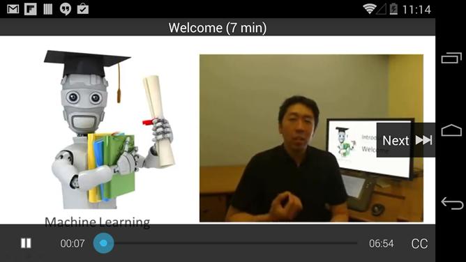 Онлайн-курсы Coursera появились на Android. Изображение № 2.