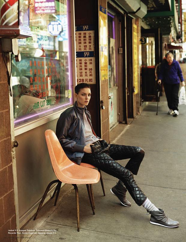 Новые съемки Dazed & Confused, Vogue, i-D и W Magazine. Изображение № 58.
