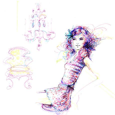 Иллюстрации Antoinette-Fleur. Изображение № 20.
