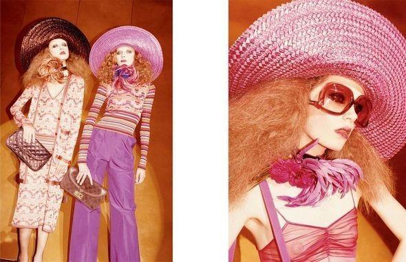 Изображение 50. Рекламные кампании: Celine, Marc Jacobs, Miu Miu и другие.. Изображение № 20.
