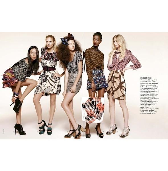 5 новых съемок: Amica, Elle, Harper's Bazaar, Vogue. Изображение № 12.