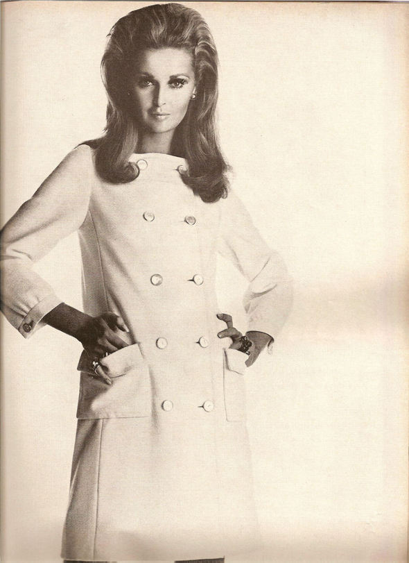 «Выгляди великолепно» каквVogue 1967 года. Изображение № 13.