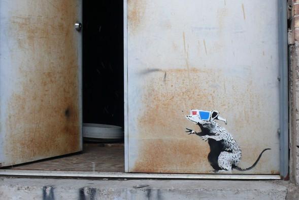 Уличное кино о бедствии искусства в мире. Изображение № 2.