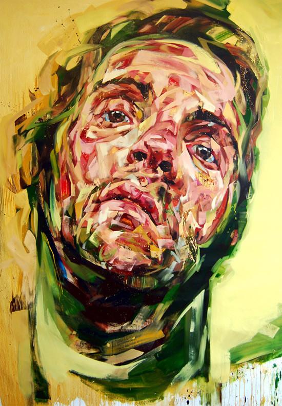 Абстрактные мужские портреты Эндрю Сальгадо. Изображение № 6.