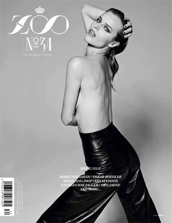 Обложки: Dazed & Confused, Zoo, Vogue и другие. Изображение № 9.