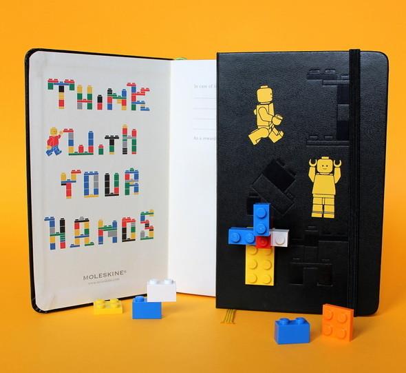 Новая серия Moleskine LEGO. Изображение № 2.