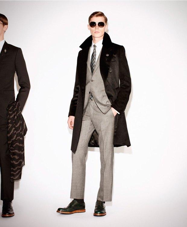 Показаны новые лукбуки Gucci, Louis Vuitton и Prada. Изображение № 36.