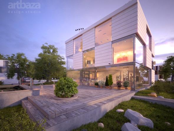 Проект и строительство дома Modul. Изображение № 2.