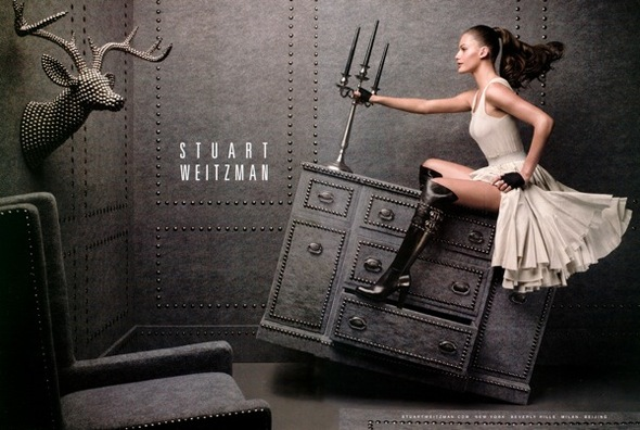 Fashion Advertisements, Выпуск 11 лучшие фотографии изрекламных кампаний модных брендов 2008. Изображение № 7.
