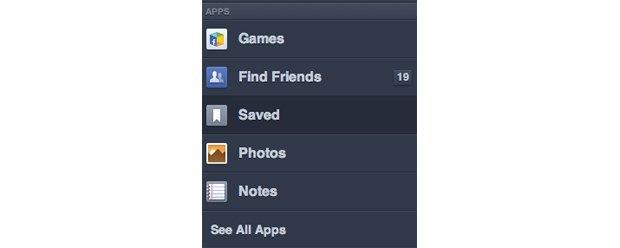 Facebook тестирует функцию «прочитать позднее». Изображение № 2.