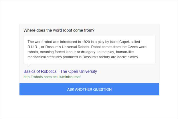Google начал показывать случайные интересные факты. Изображение № 1.