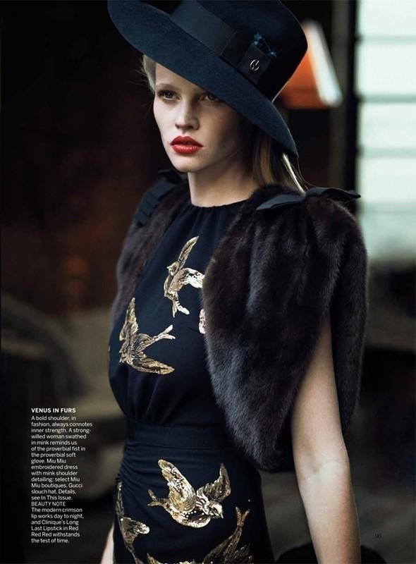 Изображение 46. Съёмки: Harper's Bazaar, Vogue, W и другие.. Изображение № 45.