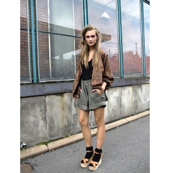 Луки с недель моды в Копенгагене и Стокгольме. Изображение № 9.