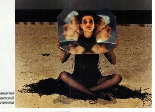 Архивная съемка: 1999 год, Жиневье ван Синус в объективе Марио Сорренти. Изображение № 3.