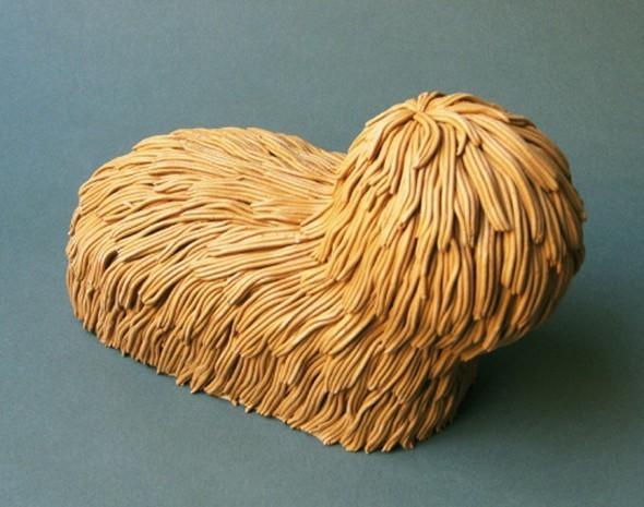 """""""Меховые"""" скульптуры из керамики, резины и бронзы. Изображение № 8."""