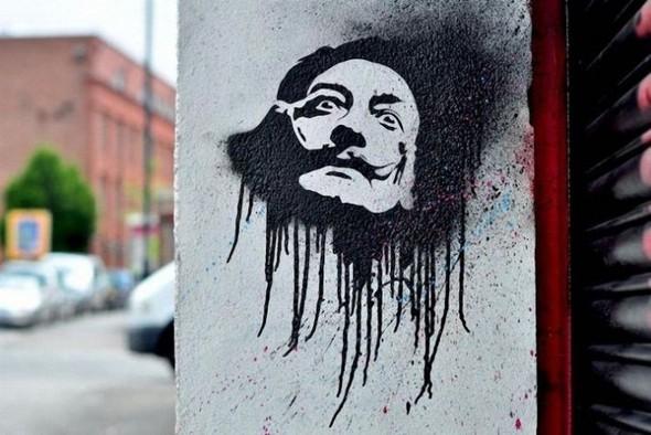 Изображение 15. Бристоль. Художественное граффити.. Изображение № 17.