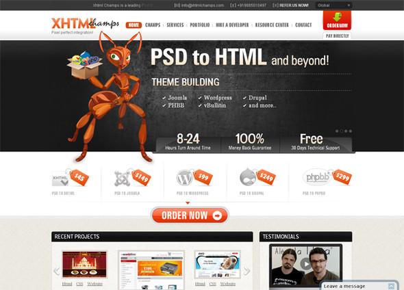 Персонажи в дизайне сайтов. Изображение № 46.
