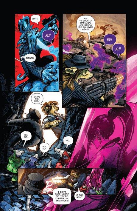 «Никаких зомби и супергероев»: Интервью с создателями комикса Shutter. Изображение № 16.