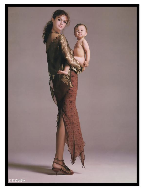 Архивная съёмка: Ричард Аведон для кампании Romeo Gigli. Изображение № 3.