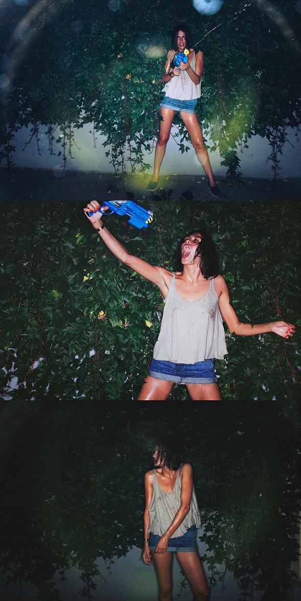 Фотоистория: что носят девушки в жару. Изображение № 6.