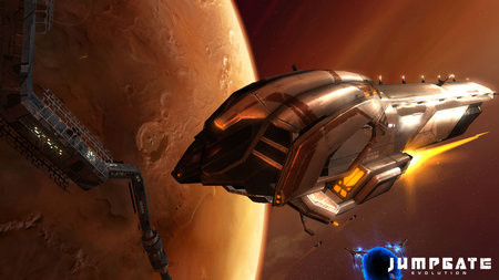 Jumpgate Evolution – MMORPG вкосмосе. Изображение № 1.