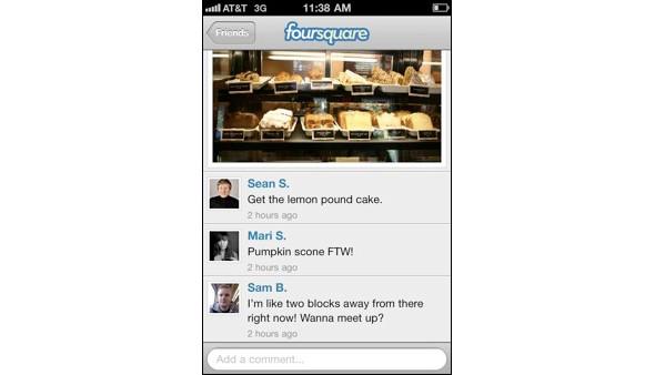 Обновления в сервисе Foursquare. Изображение № 1.