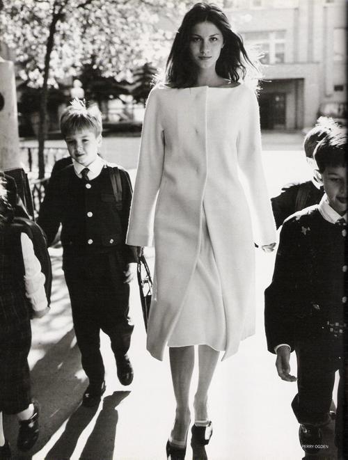 Первый номер Vogue Russia. Изображение № 2.