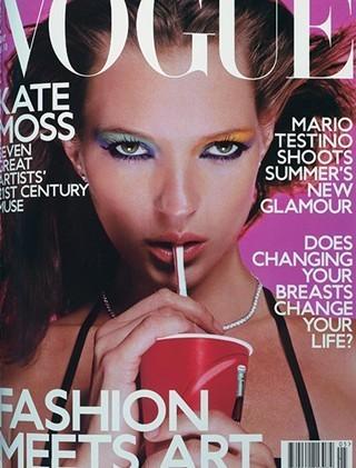 Кейт Мосс на обложках vogue. Изображение № 7.