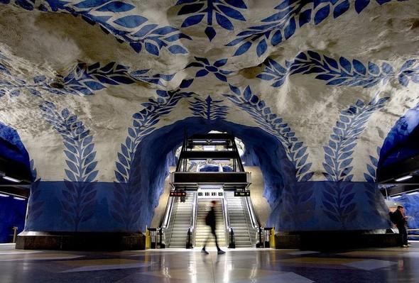 Шведский метрополитен. Изображение № 18.