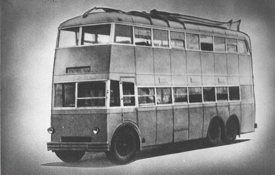 Первые троллейбусы. Изображение № 6.