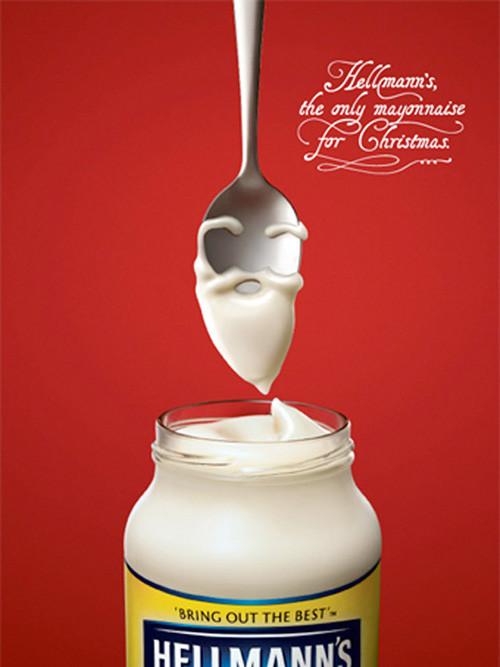 Новогоднее - Рождественский креатив в рекламе. Изображение № 16.