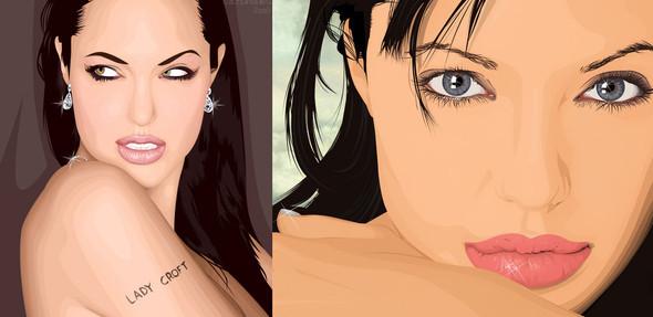 Три грации. Первая – Анджелина Джоли.  . Изображение № 3.