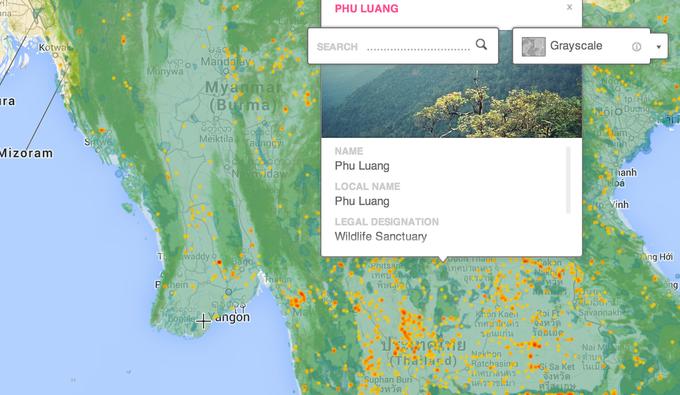Появилась интерактивная карта мировых лесов. Изображение № 3.