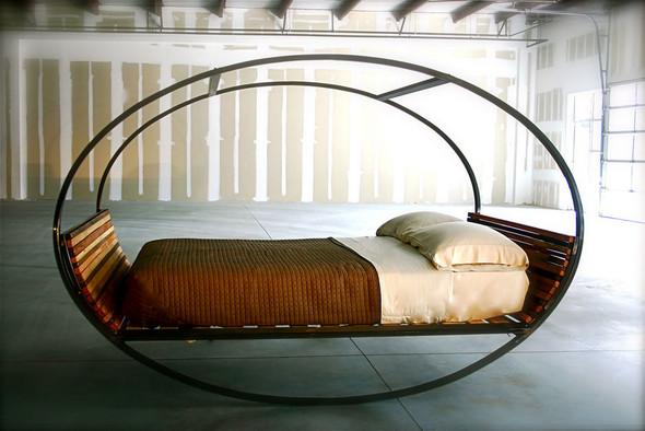 Кровать-качалка. Изображение № 2.