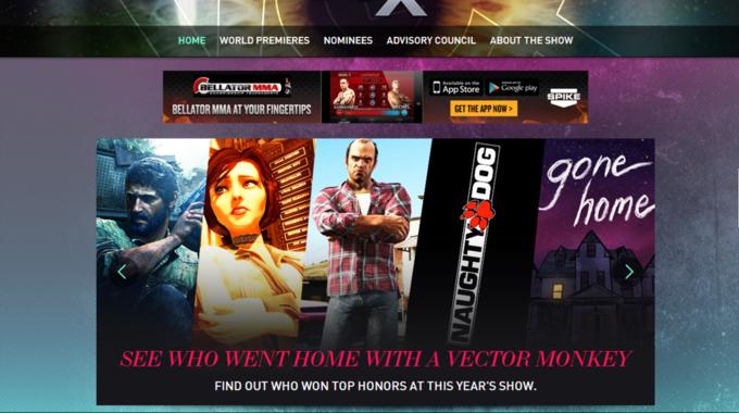 Названы лучшие игры года по версии VGX. Изображение № 1.