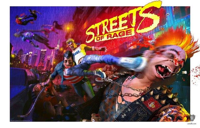 Streets of Rage Жюльена Рену. Изображение № 5.