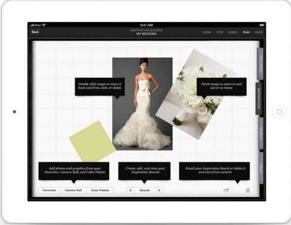 Cвадебное приложение для iPhone и iPad от Vera Wang. Изображение № 2.