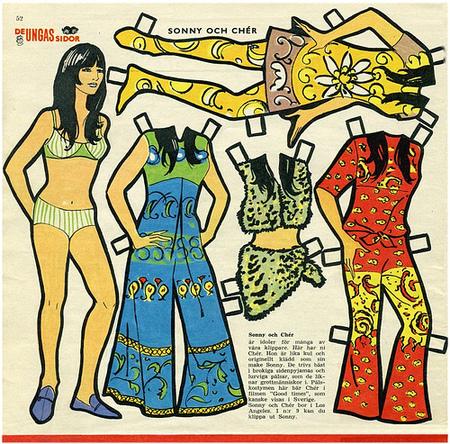 Бумажные куклы 1960-х годов!. Изображение № 1.